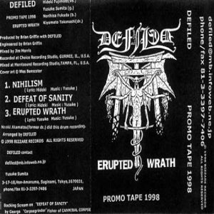 Defiled - Promo Tape 1998 cover art