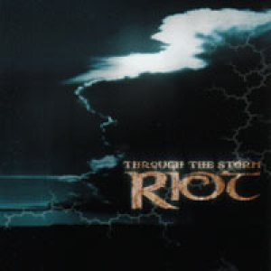 Riot - Through the Storm cover art