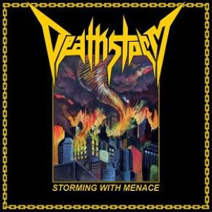 Deathstorm - Strorming With Menace cover art