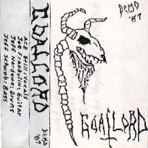 Goatlord - Demo '87 cover art