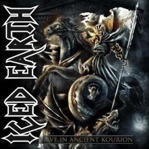 Iced Earth - Live in Ancient Kourion cover art