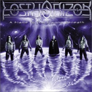 Lost Horizon - A Flame to the Ground Beneath cover art