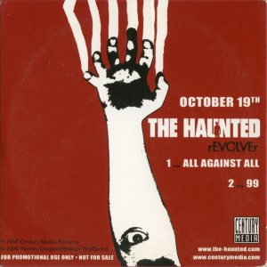 The Haunted / Diecast - Revolver / Tearing Down Your Blue Skies cover art