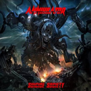 Annihilator - Suicide Society cover art
