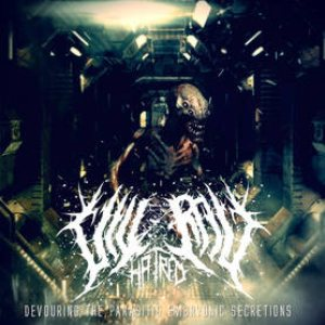 Visceral Hatred - Devouring the Parasitic Embryonic Secretions cover art