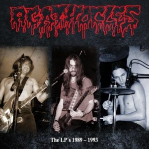 Agathocles - The LP's 1989-1993 cover art