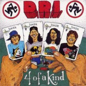 Dirty Rotten Imbeciles - 4 of a Kind cover art