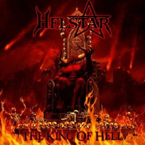 Helstar - The King of Hell cover art
