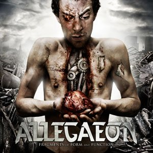 Allegaeon - Fragments of Form and Function cover art