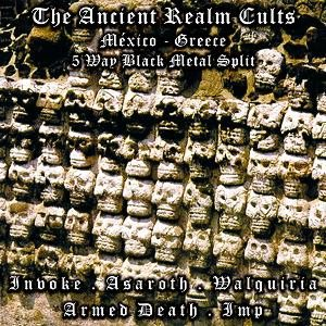Asaroth / Invoke - The Ancient Realm Cults cover art