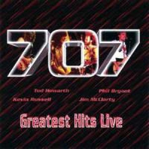 707 - Greatest Hits Live cover art
