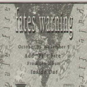 Fates Warning - Pale Fire cover art