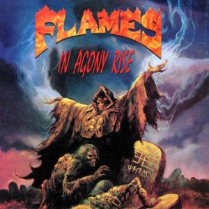 Flames - In Agony Rise cover art