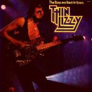 Thin Lizzy - The Boys Are Back in Town cover art
