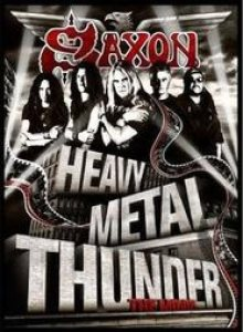 Saxon - Heavy Metal Thunder - the Movie cover art