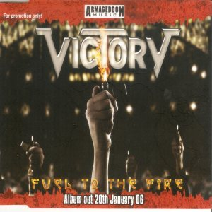 Victory - Fuel to the Fire cover art