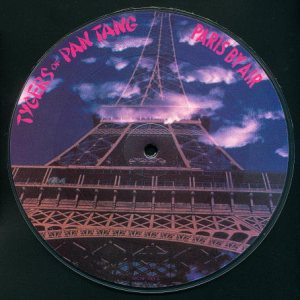 Tygers Of Pan Tang - Paris By Air cover art