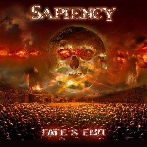 Sapiency - Fate's End cover art