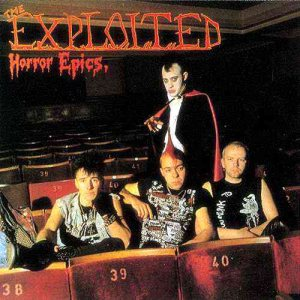 The Exploited - Horror Epics cover art