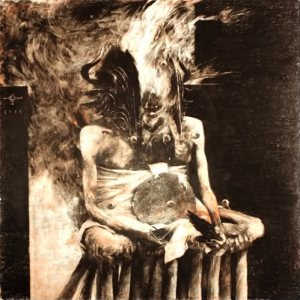 Wrathprayer - The Sun of Moloch: the Sublimation of Sulphur's Essence Which Spawned Death and Life cover art