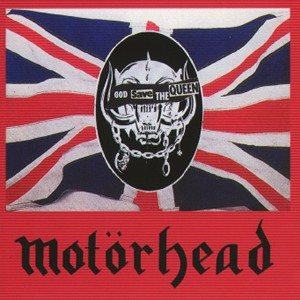Motorhead - God save the Queen cover art