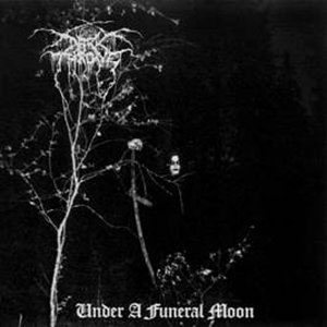 Darkthrone - Under a Funeral Moon cover art