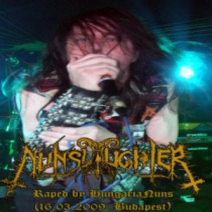 Nunslaughter - Raped by HungariaNuns cover art