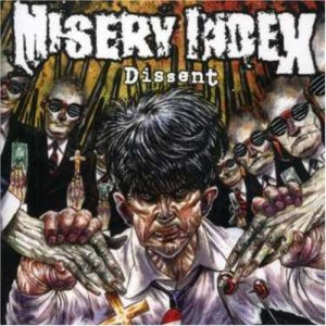 Misery Index - Dissent cover art
