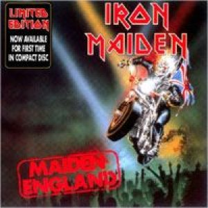 Iron Maiden - Maiden England cover art
