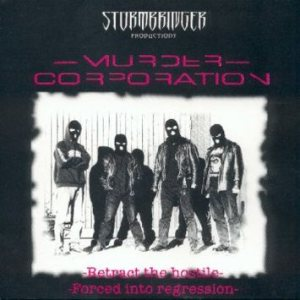 Murder Corporation - Retract the Hostile / Forced into Regression cover art