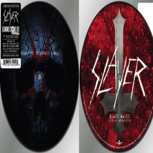 Slayer - When the Stillness Comes/Black Magic cover art