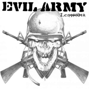 Evil Army - I, Commander cover art