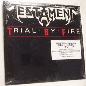 Testament - Trial By Fire cover art