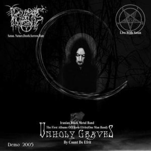 Ekove Efrits - Unholy Graves cover art