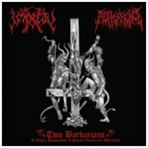 Impiety - Two Barbarians cover art