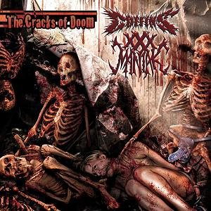 Coffins / XXX Maniak - The Cracks of Doom cover art