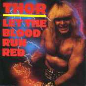 Thor - Let the Blood Run Red cover art