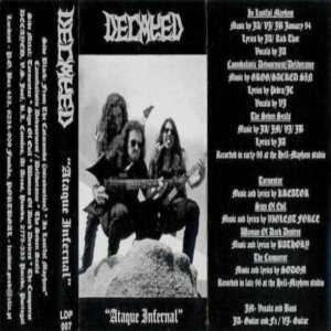 Decayed - Ataque Infernal cover art