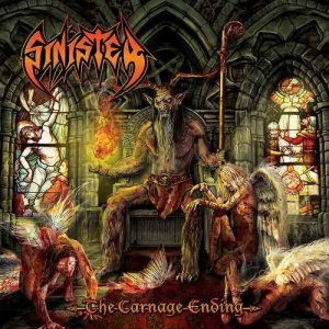 Sinister - The Carnage Ending cover art