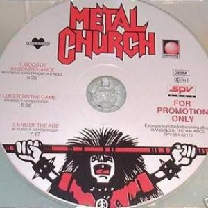 Metal Church - Gods of Second Chance cover art