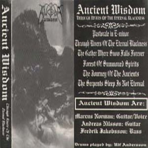 Ancient Wisdom - Through Rivers of the Eternal Blackness cover art