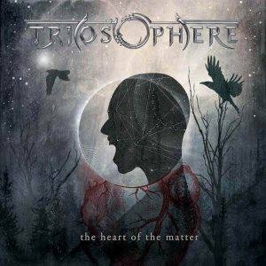 Triosphere - The Heart of the Matter cover art