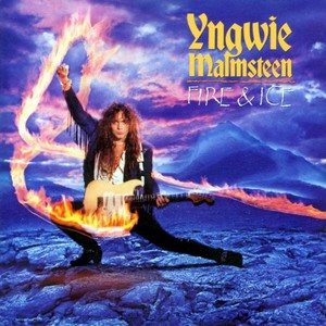Yngwie Malmsteen - Fire & Ice cover art