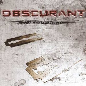 obscurant - First Degree Suicide cover art