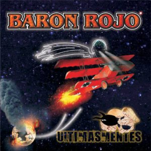 Baron Rojo - Ultimasmentes cover art