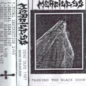 Merciless - Behind the Black Door cover art