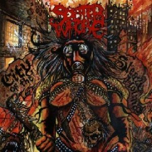 Splatter Whore - City of the Sleazehounds cover art