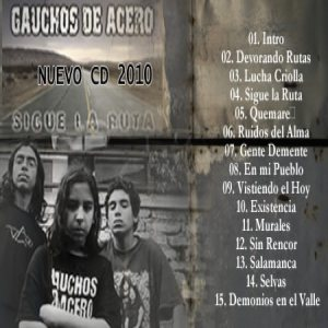 Gauchos de Acero - Sigue la Ruta cover art
