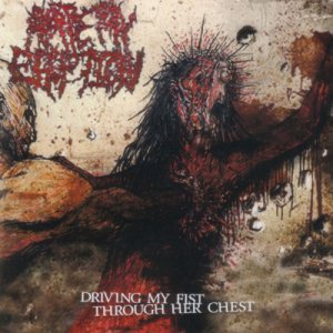 Artery Eruption - Driving My Fist Through Her Chest cover art