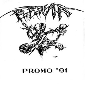 Paralysis - Promo '91 cover art